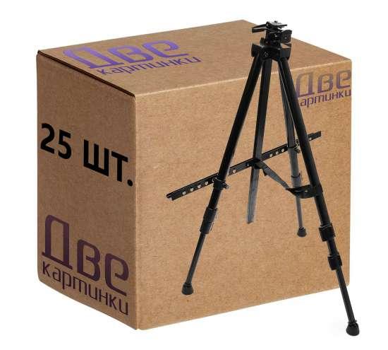 Тип товара Коробка 25 штук: металлический мольберт тренога в чехле, телескопический